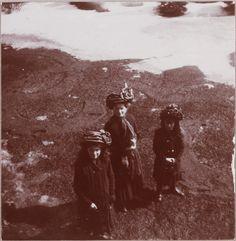 Maria, Olga & Anastasia, Tsarskoe Selo, circa 1911