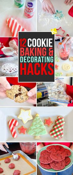 Eating cookies? No problem. Baking and decorating cookies, however, is a whole different thing. Use these cookie hacks to make your life easier.