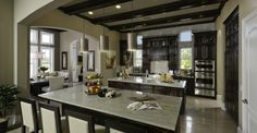 Builder: Ashton Woods. Modern spacious kitchen design you can experience for yourself during the Orlando Parade of Homes this month. http://www.paradeofhomesorlando.com/