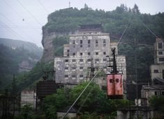 Канатная дорога в грузинском городе Чиатура   AllNews 7 day http://allnews7day.ru/history/gruzinskiy-gorod-chiatura