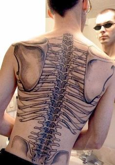 Full body art Tattoo in london