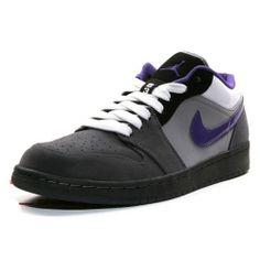 Air Jordan 1 Phat Low Anthracite Varsity Purple Stealth White #Purple #Womens #Sneakers