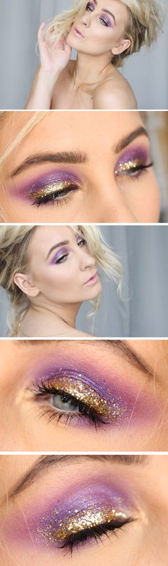 Makeup of the day – purple phenomenon | Helen Torsgården - Hiilens sminkblogg | Veckorevyn