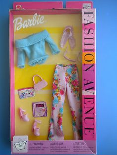 Barbie Fashion Avenue #25702 NRFB 2002
