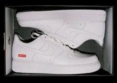 Custom Nike Air Force 1 x Supreme x LV | Buty, Moda