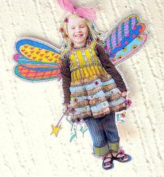 Colorful Paper Art Dolls