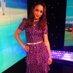 Sonia Gray looked incredible in the #HelenCherry Tiffany Dress on Lotto last week! Limited numbers left in store & online, be quick www.work...