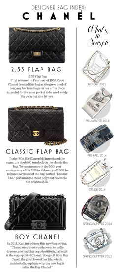 DESIGNER BAG INDEX: CHANEL | Fashion - Style Report | Stylebible.ph