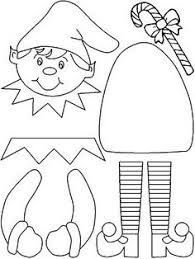 graphic relating to Printable Christmas Crafts known as Graphic final result for printable xmas crafts for kindergarten