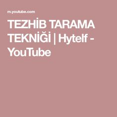 TEZHİB TARAMA TEKNİĞİ   Hytelf - YouTube Make It Yourself, Blog, Instagram, Blogging
