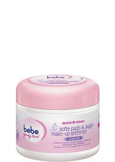 quick & clean<br/>softe pads & augen make-up entferner