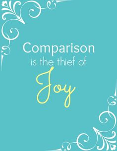 Comparison: The Thief of Joy with Printable - Made To Be A Momma