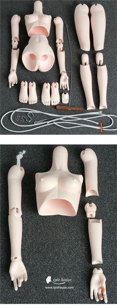 Ball jointed Doll Total Shop :::Iplehouse.net:: <--- How to string a BJD