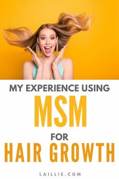Learn how to grow your hair out as fast as possible through the use of MSM. I have been using MSM for hair growth for about a year now and am really happy with it. Make your hair grow really fast with this supplement! #hairgrowth #growyourhair #MSM #haircare #hairhealth Growing Your Hair Out, Hair Health, Grow Hair, Hair Growth, Hair Care, Happy, Beauty, Hair Growing, Growing Out Hair
