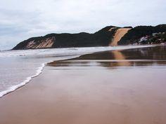 La spiaggia della Punta Nera, a Natal, RN