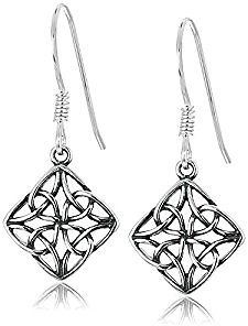 Amazon | FREE Sterling Silver Celtic Earrings with $25 Purchase