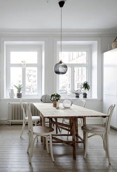 Interiors   Swedish Apartment Simply Styled