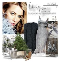 """""""Christmas Time"""" by thewondersoffashion ❤ liked on Polyvore featuring Dolce&Gabbana, Armani Privé, BCBGMAXAZRIA, Aquazzura, dolceandgabbana, blakelively, ArmaniPrive and holidaystyle"""