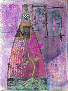 Journaling - Part V - Teesha Moore and Layering 4 via lilblueboo.com