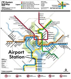 Metrorail Station | Metropolitan Washington Airports Authority
