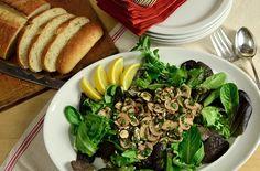 Mushroom and Fresh Herb Salad