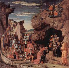 * Adoração dos Três Reis Magos * (by Andrea Mantegna).