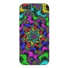 Customizable Stained Glass Fractal Glossy iPhone 5 Case going for $35.95. Check this product out at www.zazzle.com/wonderart*