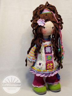 Crochet pattern for doll yuna pdf deutsch english nederlands español italiano français português Crochet Amigurumi, Amigurumi Doll, Crochet Toys, Crochet Baby, Free Crochet, Crochet Dolls Free Patterns, Crochet Doll Pattern, Doll Patterns, Barbie