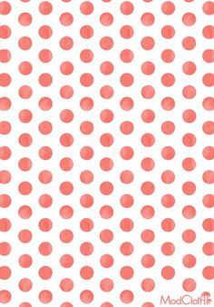 Let this free, downloadable polka dot pattern play up your phone's wallpaper!