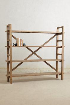 Toscana Bookcase via anthropologie.com #livingroom #shelf #bookcase