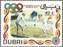 Fencing 1972 Olympic Games - Munich, Germany