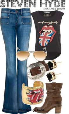 """That 70's Show"" by kerogenki on Polyvore"
