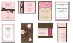 Chocolate Brown & Pink Wedding Ideas
