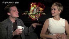 Funny moments part 2 with Jennifer Lawrence & Josh Hutcherson