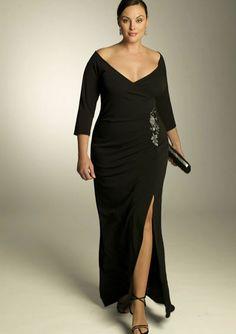 plus size evening dress Belladonna Gown $137.00