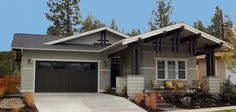 3 bedroom, 2 bathroom craftsman plan