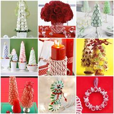 Christmas Candy Ideas | candy decorations | Christmas