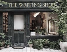 The Writing Shop (above) was a surprising find. It's a little piece of Europe…