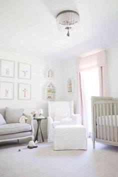 how to install shiplap in a baby room | Lay Baby Lay | Bloglovin'