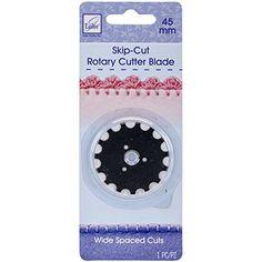 Brand New Rotary Cutter Blade Refill-45mm Wide Skip Cut 1/Pkg Brand New M1N4B6 http://www.amazon.com/dp/B016VIKEVO/ref=cm_sw_r_pi_dp_B2Wjwb1W54HQP