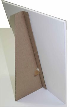 Support En Carton Plume Cardboard Photo Frame Diy Picture Frames Diy Photo Frames