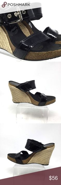 5f2ae1edd8ba Donald J Pliner Women s Wedge Size Us 8 Black Donald J Pliner Women s  Sandal Size Us