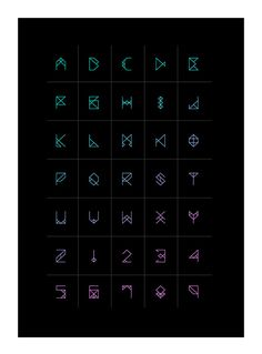 A new geometric font inspired by Dubstep.                                                                                                                                                      More