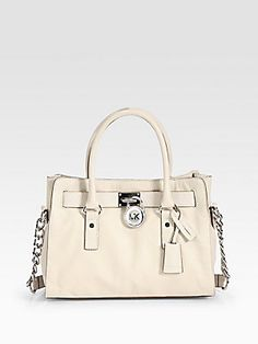 MICHAEL MICHAEL KORS Hamilton Satchel - seriously one in each color and i'd be set.