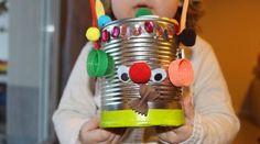 DIY: recycler une boite de conserve pour créer un jeu magnétique.