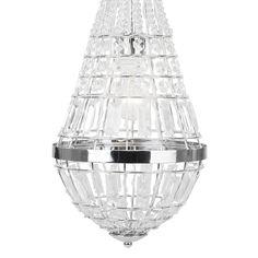 Empire Lüster Giga glitzernd #lampe #glitzer #kunststoff https://www.kronleuchterhaus.de/collections/klassische-kronleuchter/products/empire-luster-giga-glitzernd