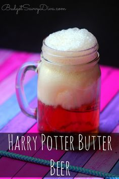 Harry Potter Butter Beer Recipe | Budget Savvy Diva