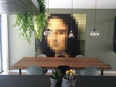 The Mona Lisa IXXI. Get inspired at www.ixxidesign.com/inspiration   #IXXI #ixxiyourworld #home #interior #inspiration #MonaLisa #Art #style #walldecoration #design #living