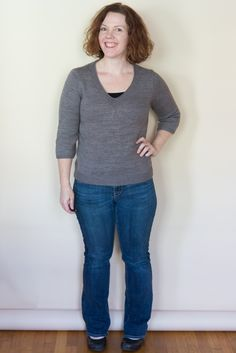 Sweater Hem length tips from Amy Herzog