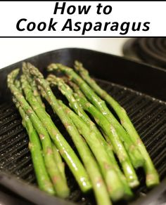 Asparagus is super healthy for you, it goes great with a piece of chicken, or pork, and many other things. It is easy to make so let's get cooking!